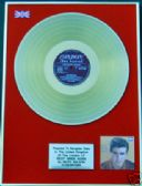 RICKY NELSON - 24 Carat Gold Disc - RICKY SINGS AGAIN